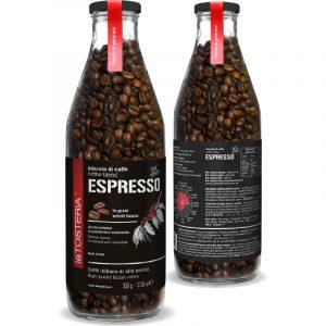 Miscela Espresso – bottiglia 350 g. grani