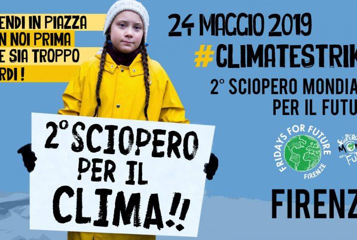 24 maggio sciopero climate strike