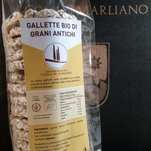 Gallette Bio di Grani Antichi (Gentil Rosso)