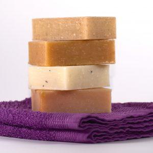 pack 4 saponi bio